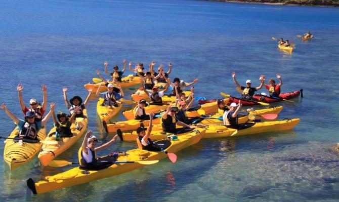 Half Day Sea Kayaking Tour