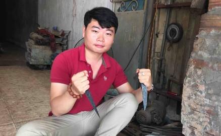 Knife Making in Traditional Vietnamese Blacksmith Village