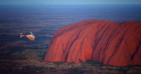 Uluru (Ayers Rock) Scenic Helicopter Flight - 15 minutes