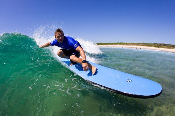 Lets Go Surfing Pass Plus: 5 Lessons
