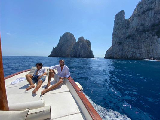 Capri Boat tour