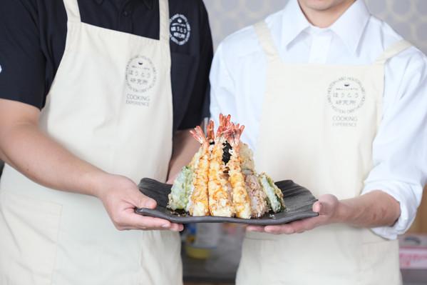 """Tendon"" Tempura Cooking Experience"