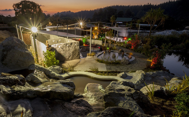 rotorua geothermal spa