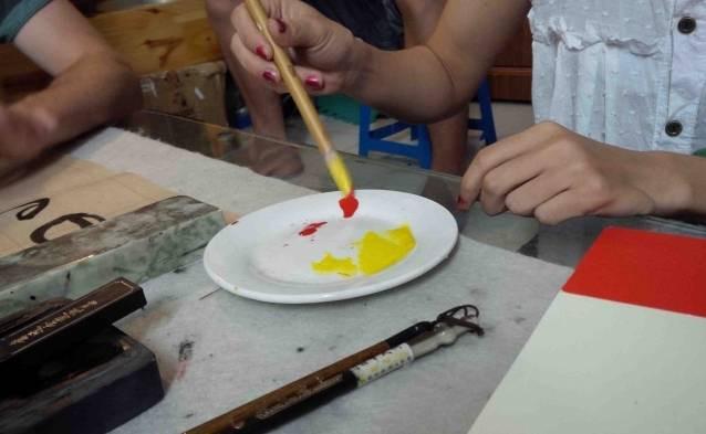 watercolor painting class vietnam tours
