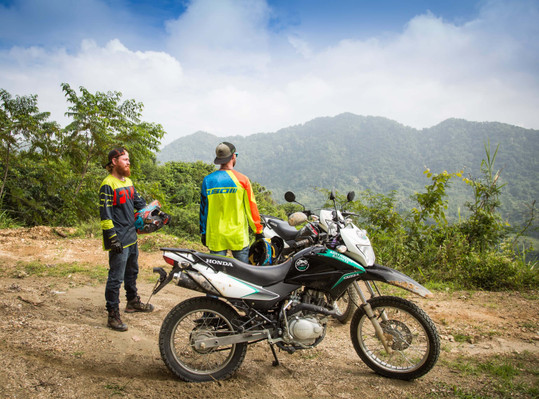 Motorcycle tour overnight colombia