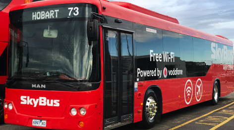 SkyBus Airport Express Transfers – Hobart