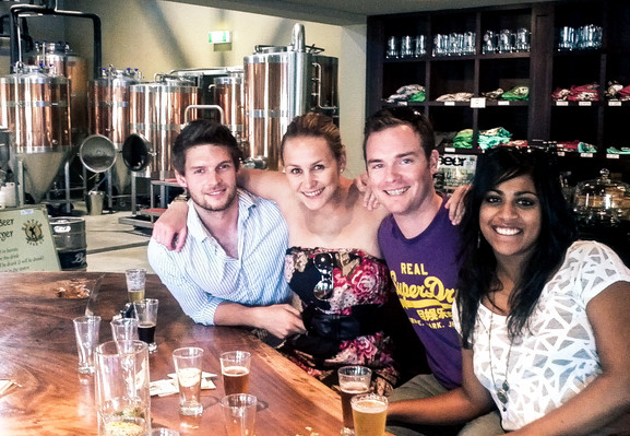 Hunter Valley beer and wine tours