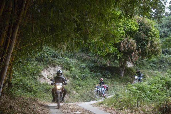 Minca Colombia motorcycle rental