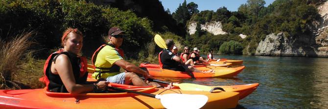 waikato river kayak