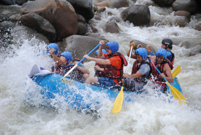 Whitewater Rafting Adventure Chirripo River from San José