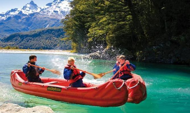 Dart River 'Funyak' & Jet Boat Tour