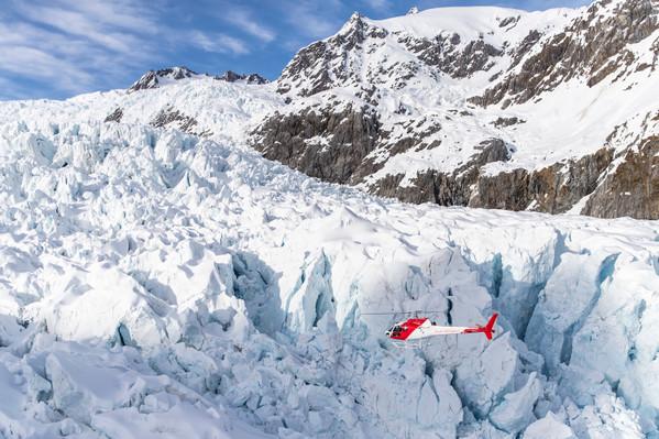 mount cook fox glacier scenic flight