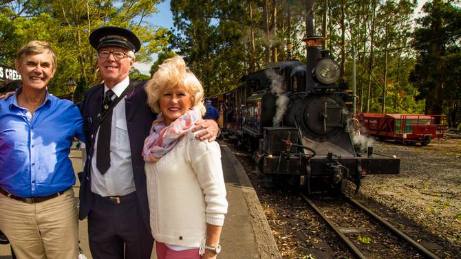 Puffing Billy Heritage Steam Train & Dandenong Ranges