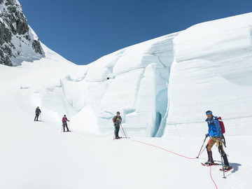 Top Of The Tasman Glacier Hike