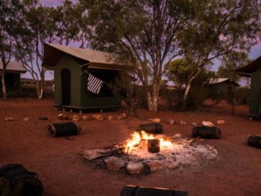 camping tour uluru