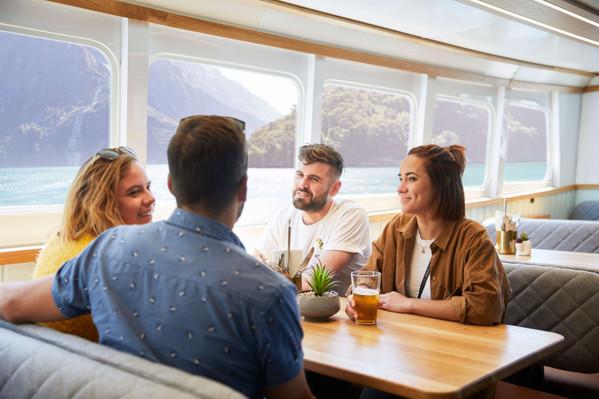 Go Orange Milford Sound Cruise Inside