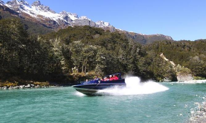 Dart River jet boat deals