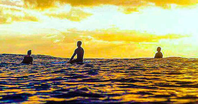 Oahu Sunset glass bottom boat Cruise