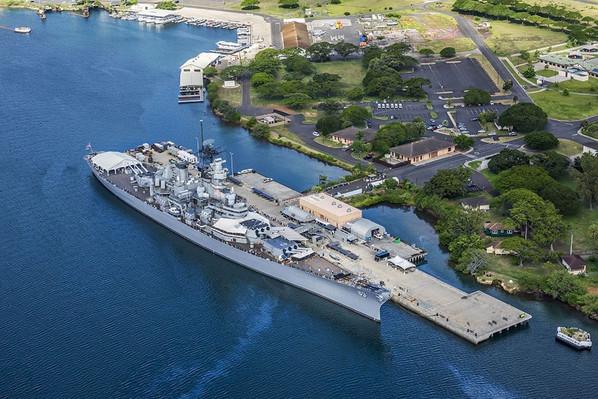 USS Missouri Battleship Tour