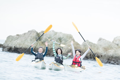 Mt. Fuji Sea Kayaking Experience