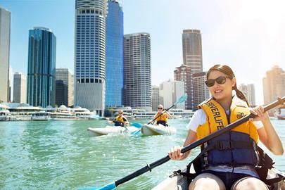 Brisbane City Day Kayak Adventure