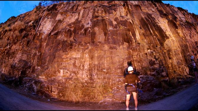 Twilight Rock Climb Adventure Brisbane
