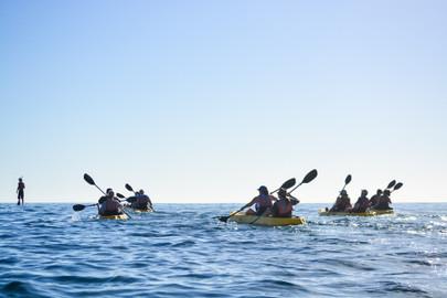 Glass Bottom Kayak/Snorkel Santa Maria & Chileno Bay