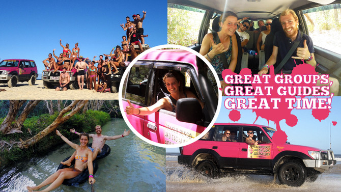 4wd guided tour fraser island
