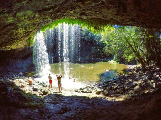 byron bay waterfall