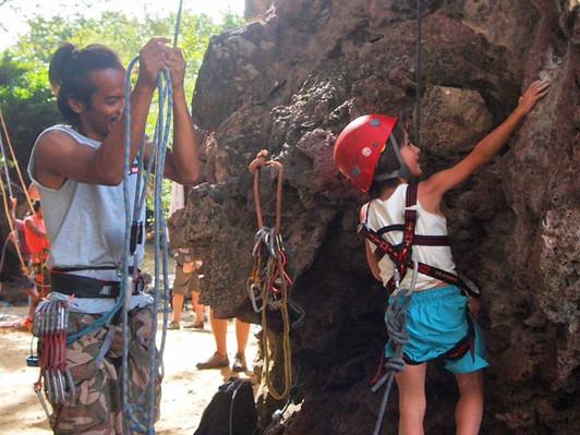 Thailand Krabi rock climbing tours