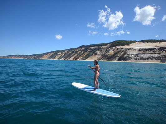 Sup Lesson Double Island