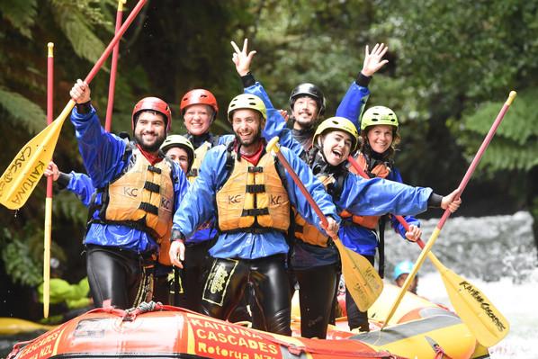 Kaituna Cascades Rafting tour
