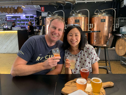 Brisbane beer and axe throwing tour