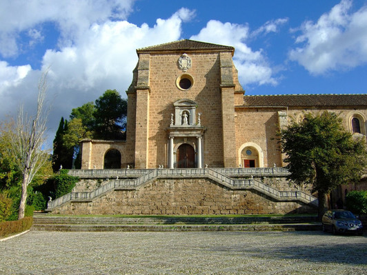 Cartuja Monastery in Granada