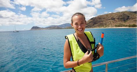 3 Hour Waikoloa Snorkel And Sail Adventure