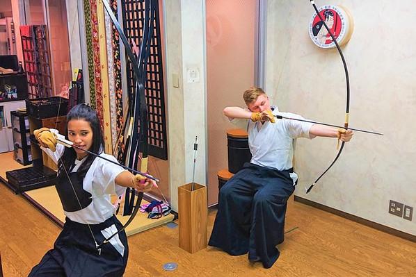 Hiroshima archery experience