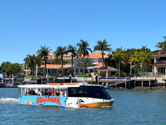 Sunshine Coast Aquaduck cruise