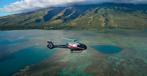 Molokai Voyage Scenic Helicopter Flight from Maui