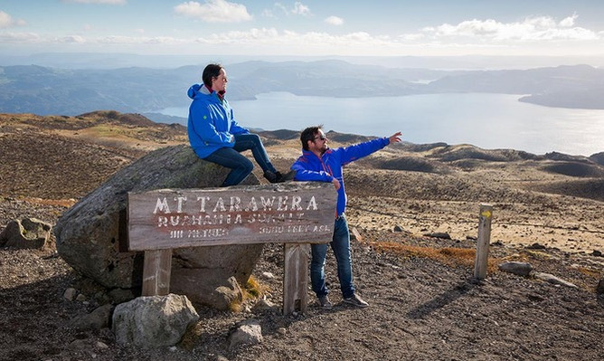 Mount Tarawera tour voucher
