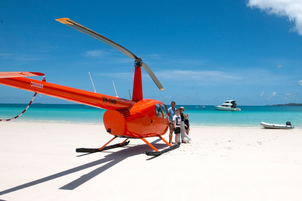 Whitehaven Beach Helicopter Tour