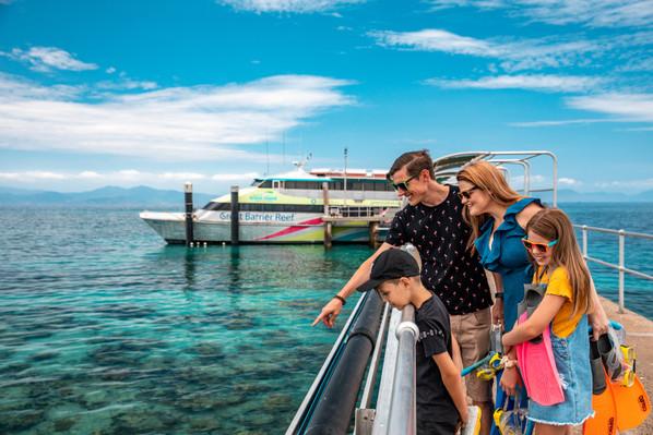 Big Cat Green Island Cruise Full Day