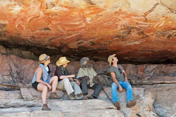 Park Trek Arnhem Land and Kakadu five-day walking tour - Aboriginal rock art NT.jpg