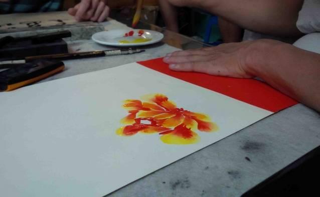 painting watercolor hanoi voucher