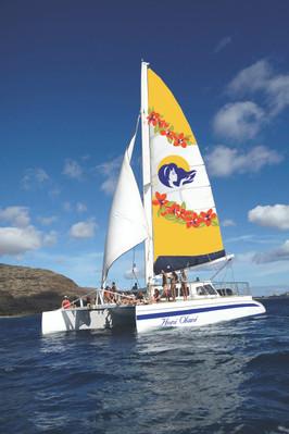 Kona Snorkel And Sail Tour