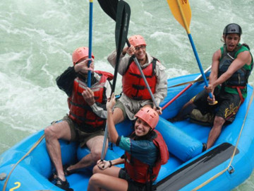 Whitewater Rafting Savegre River from Jacó