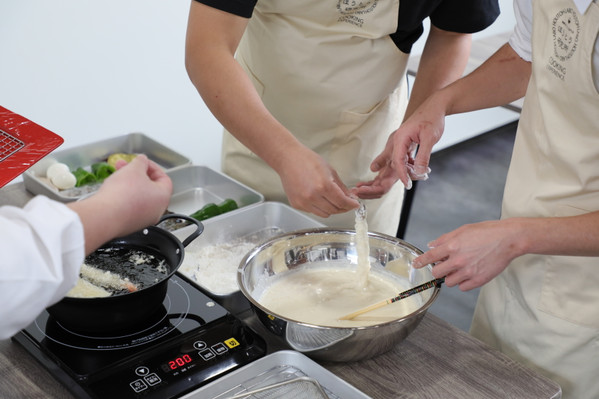 Prawn Tempura Cooking Experience