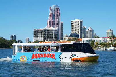 Gold Coast Aquaduck City Tour & River Cruise