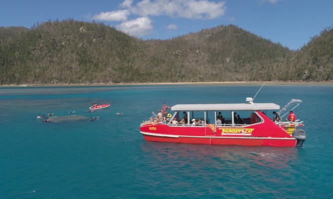 Whitsundays thundercat cruise boat