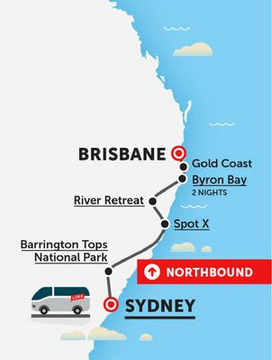 sydney to brisbane flexible travel pass