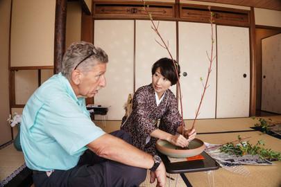 Ikebana Flower Arrangement Experience
